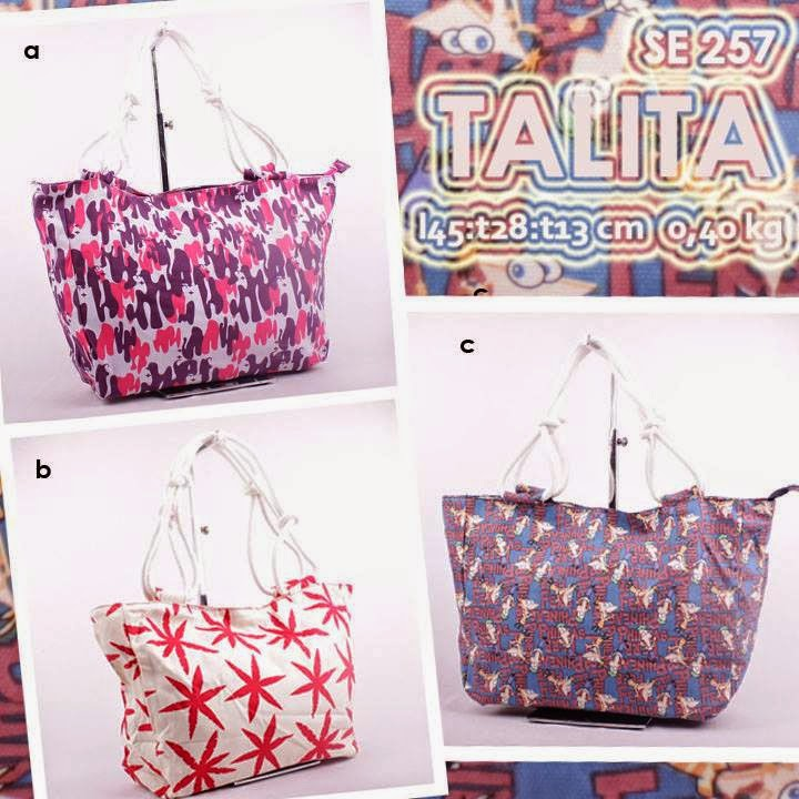 jual online handbag kanvas murah motif cantik