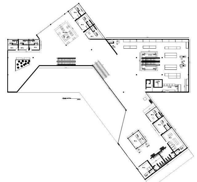Galeria Arquitectonica: Alameda Comercial La Gran Estacion: Plantas Arquitectonicas