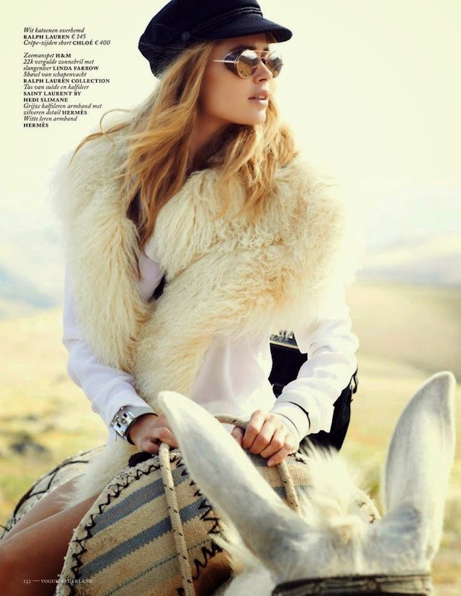 doutzen kroes vogue netherlands september 2013