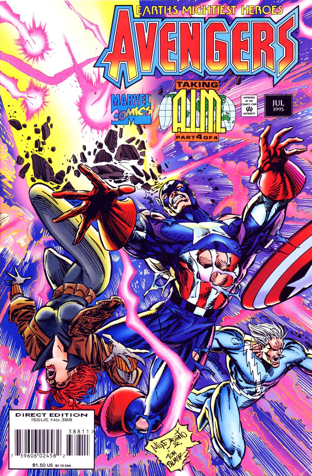 Captain America (1968) Issue #441b #395 - English 1