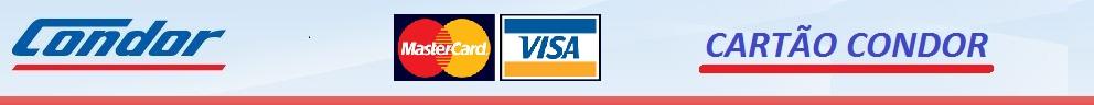 Cartão Condor - Master Card - Aura - Visa