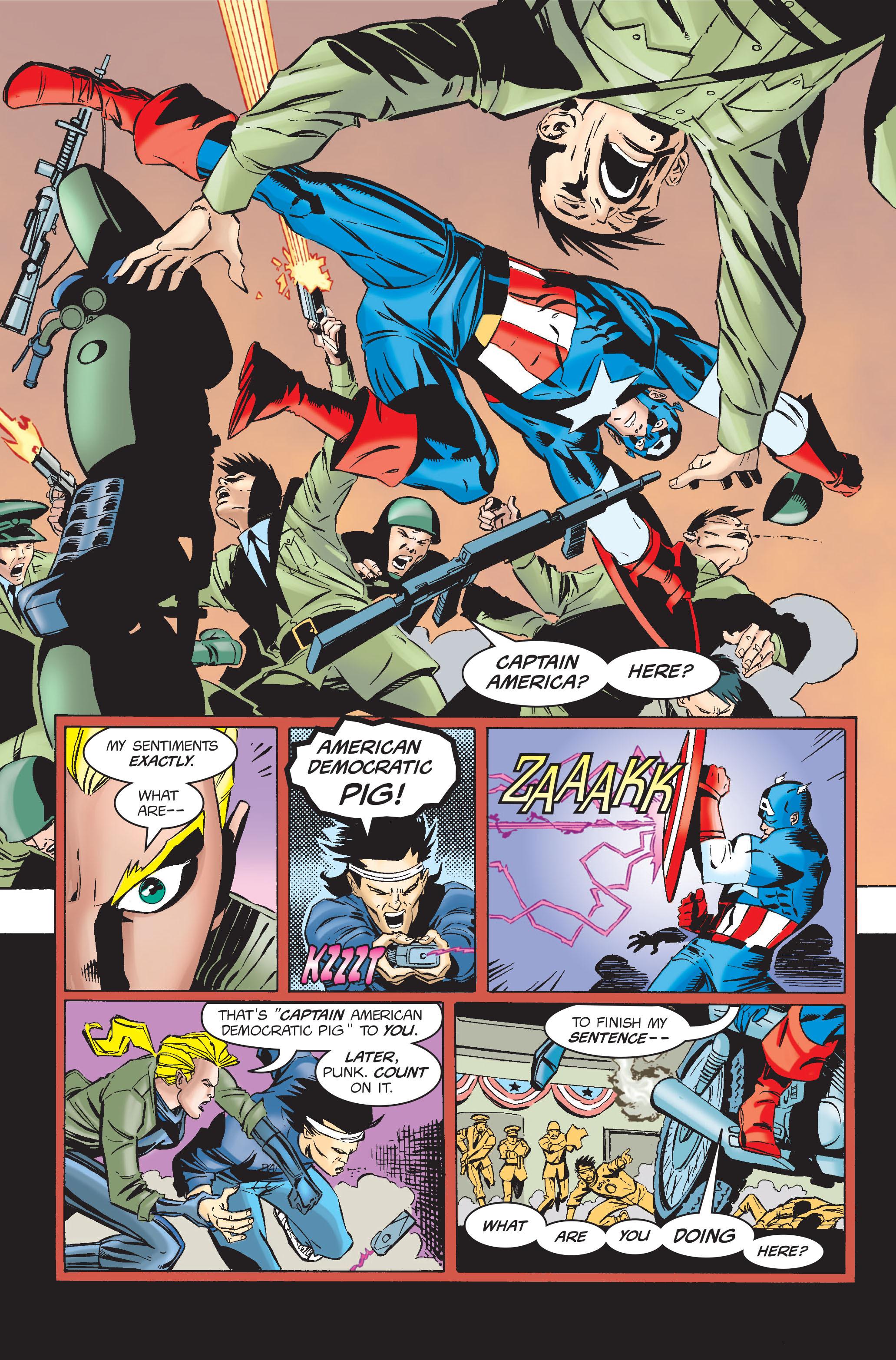 Captain America (1968) Issue #454 #411 - English 5