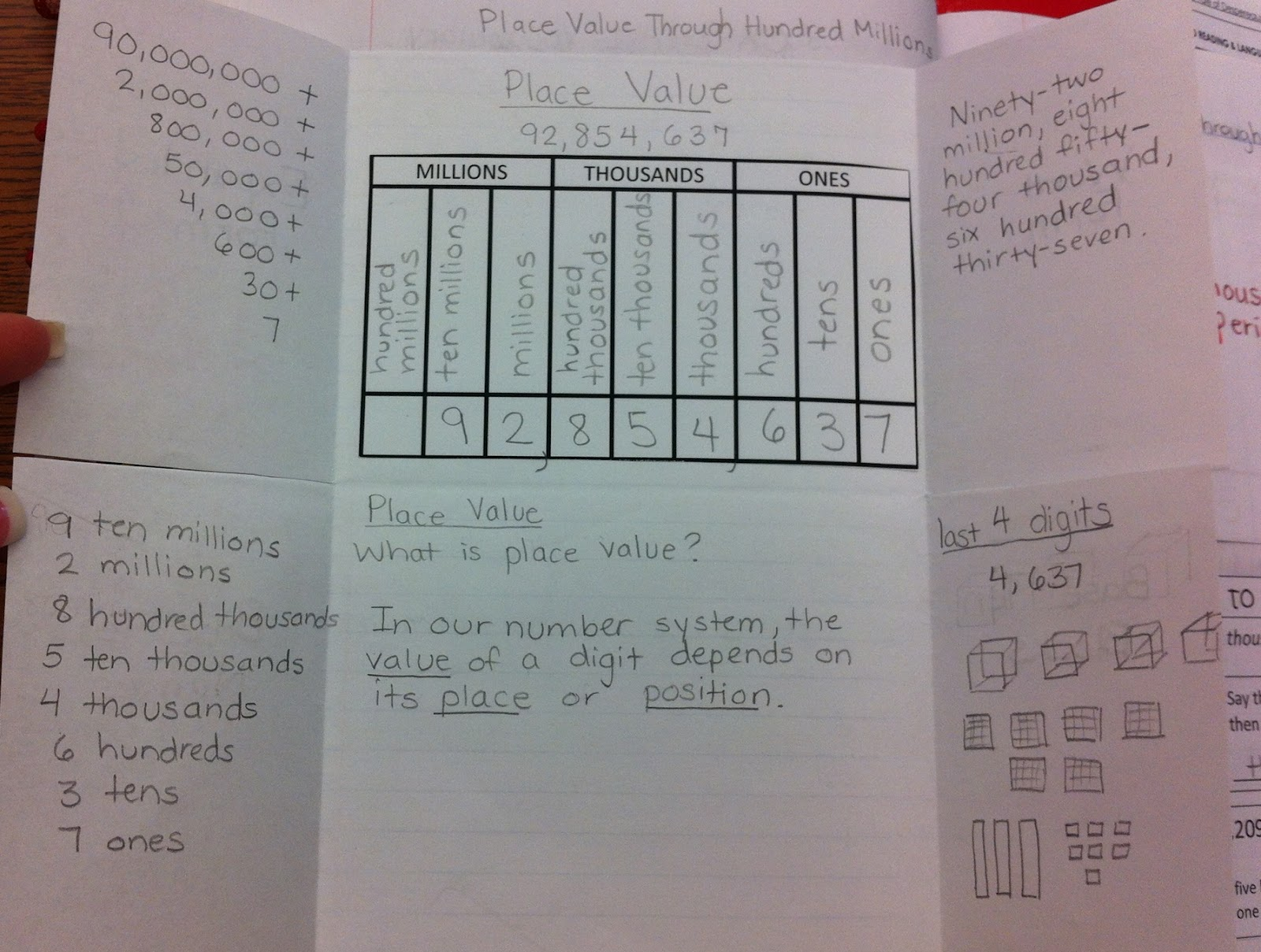 Lights, Camera, 4th Grade!: Interactive Notebook