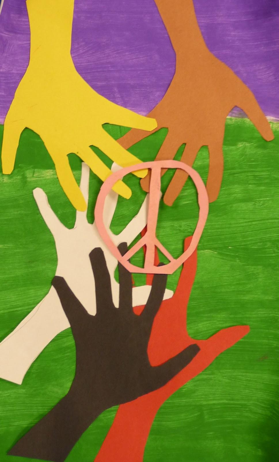 Art. Paper. Scissors. Glue!: MLK Inspired