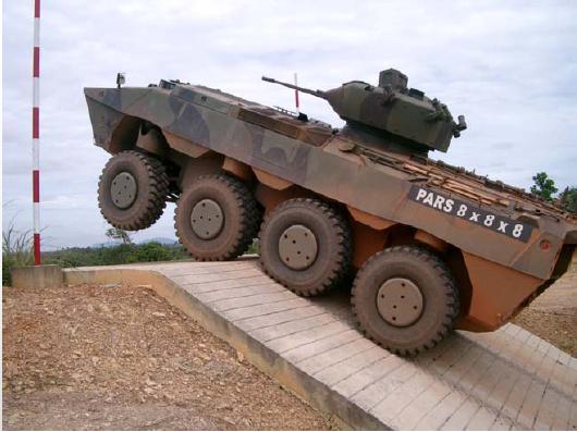 MINDEF, Malaysian Army, Malaysia, DEFTECH, AV8, APC, PARS, FNSS, Turki, Evaluation, IFV Turret, AV Turret, Anti-Tank Missile, Ingwe, IFV, South Afrika, Turkey,