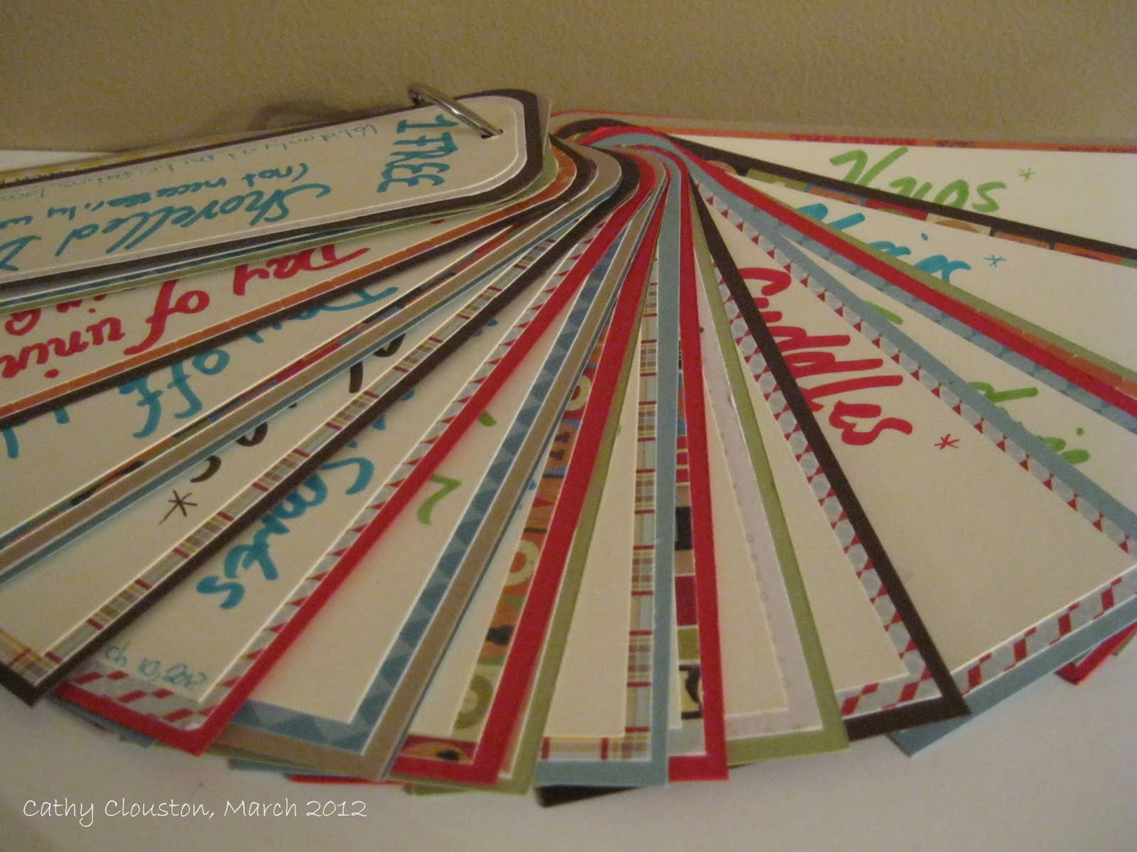 how to make a coupon book for husband