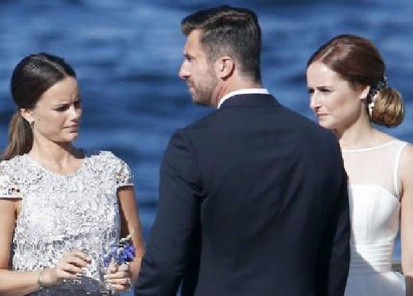 Lina Hellqvist married her boyfriend Jonas Frejd