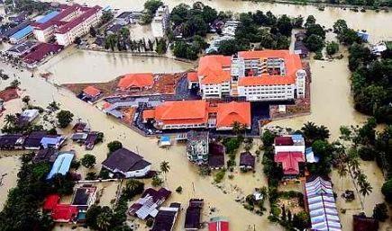 banjir di kelantan 2014