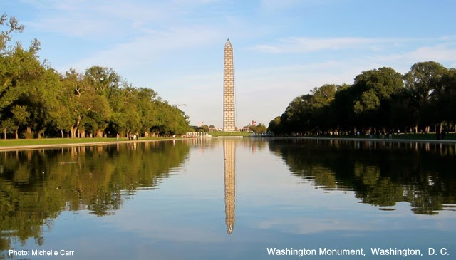 Washington Monument. Washington, D.C.  Photo: Copyright Michelle Carr 2013 / Travel Boldly.com