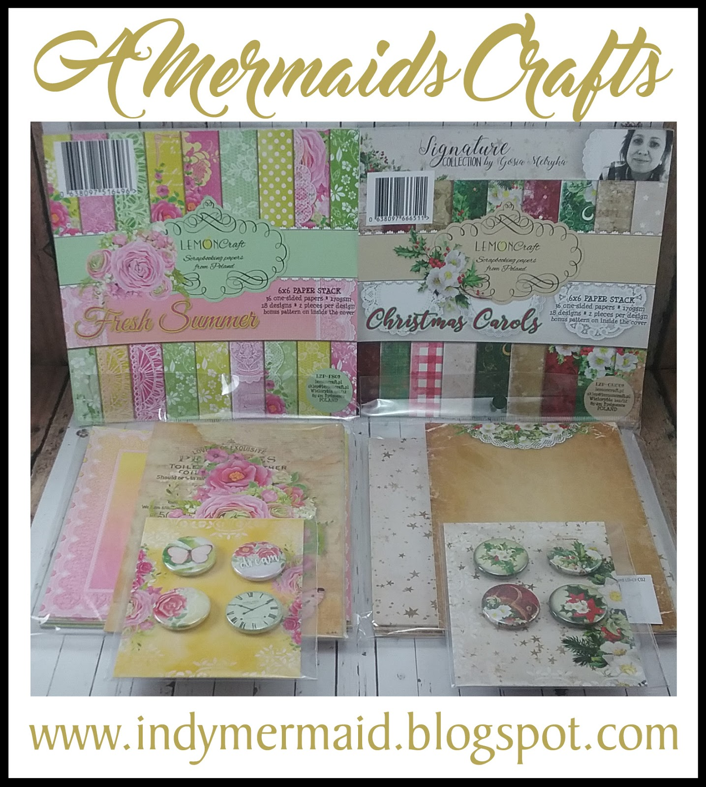 A Mermaids Crafts - Lisa's Giveaway