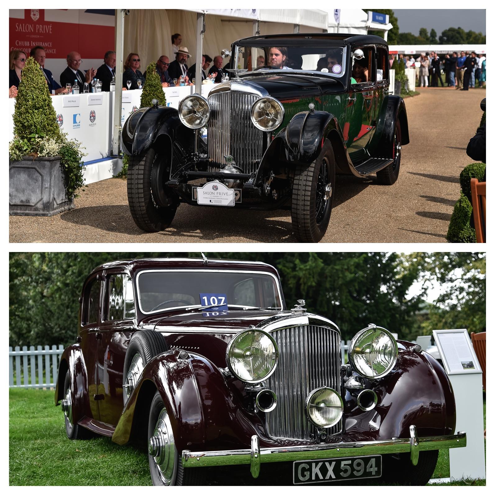 Classic 1936 Bentley 4 Derby Sports Saloon Sedan Saloon: Salon Prive 2014 - Bentley - Cars & Life