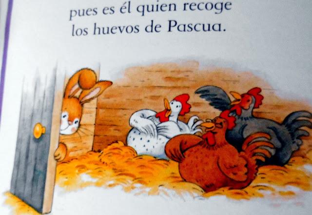 Ilustraciones de Cuentos Infantiles, gallinas empollando