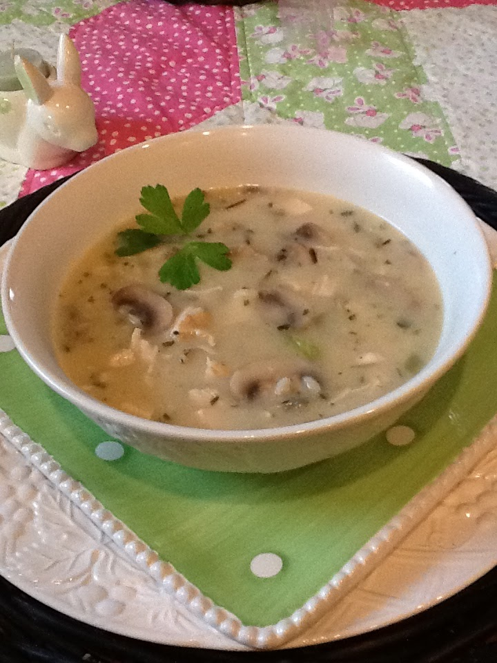 found this delicious soup recipe from the March 2011 issue of ...