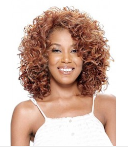Vanessa Synthetic Lace Front Wig TOP Side Altas
