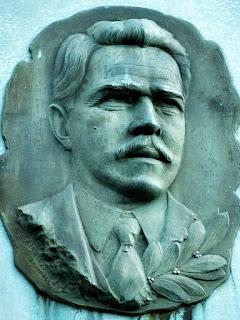 Busto do Doutor Otávio Rocha, na Praça Regional da Uva, no Distrito de Otávio Rocha, em Flores da Cunha.