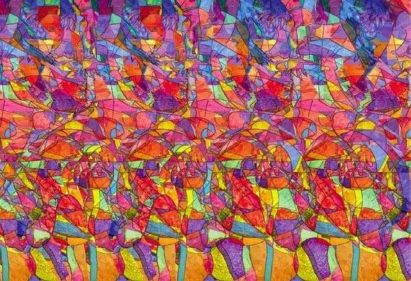 Imagenes 3d e ilusiones opticas for Ilusiones opticas en el suelo