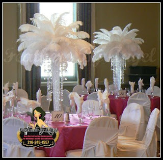 FEATHER CENTERPIECES OHIO