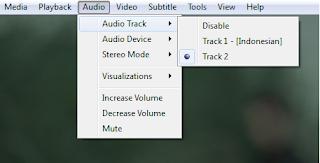 Cara Memilih Audio pada Film Dual Audio