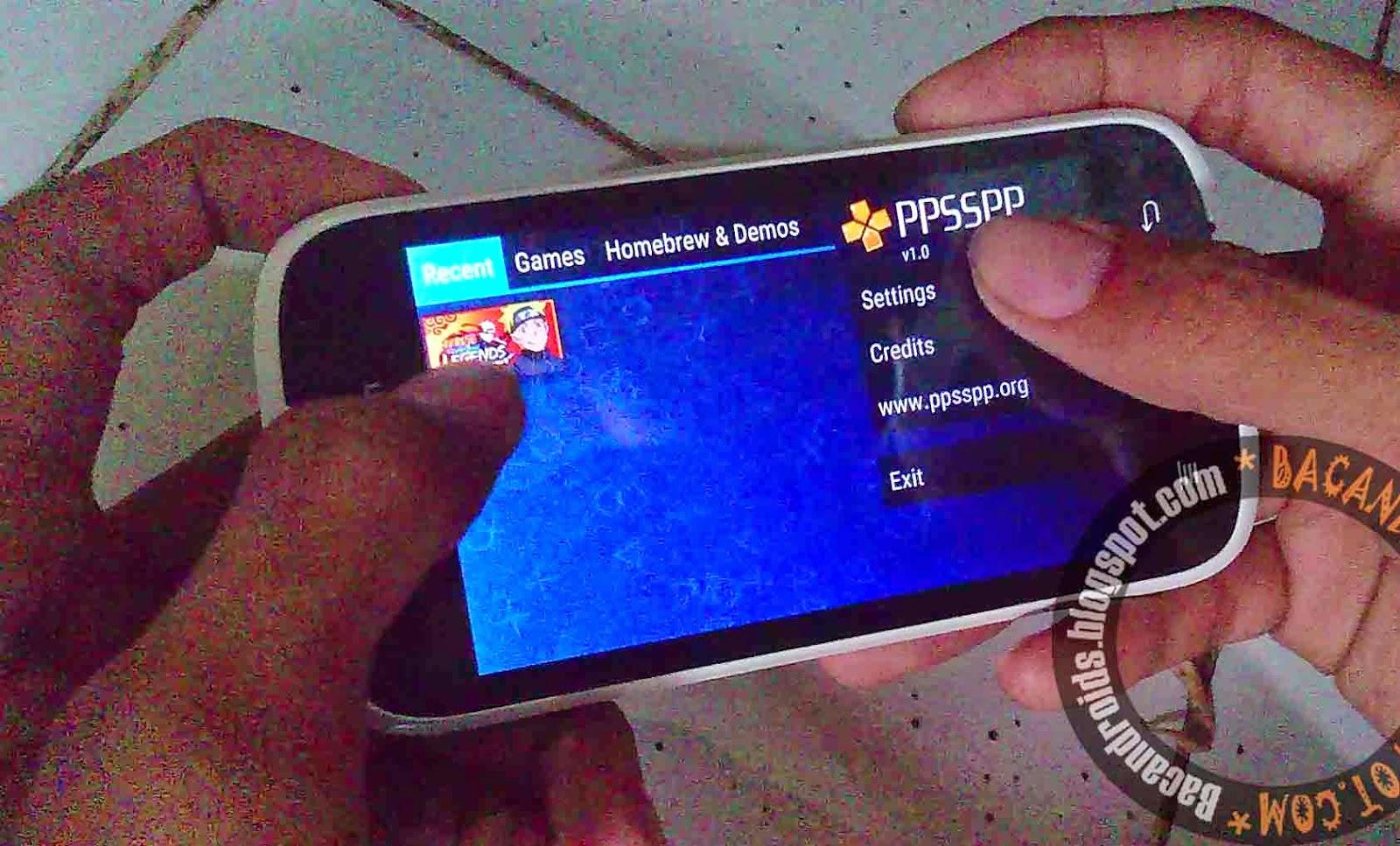 Emulator PPSSPP/PSP Gold Android Apk Versi 1.0 Terbaru