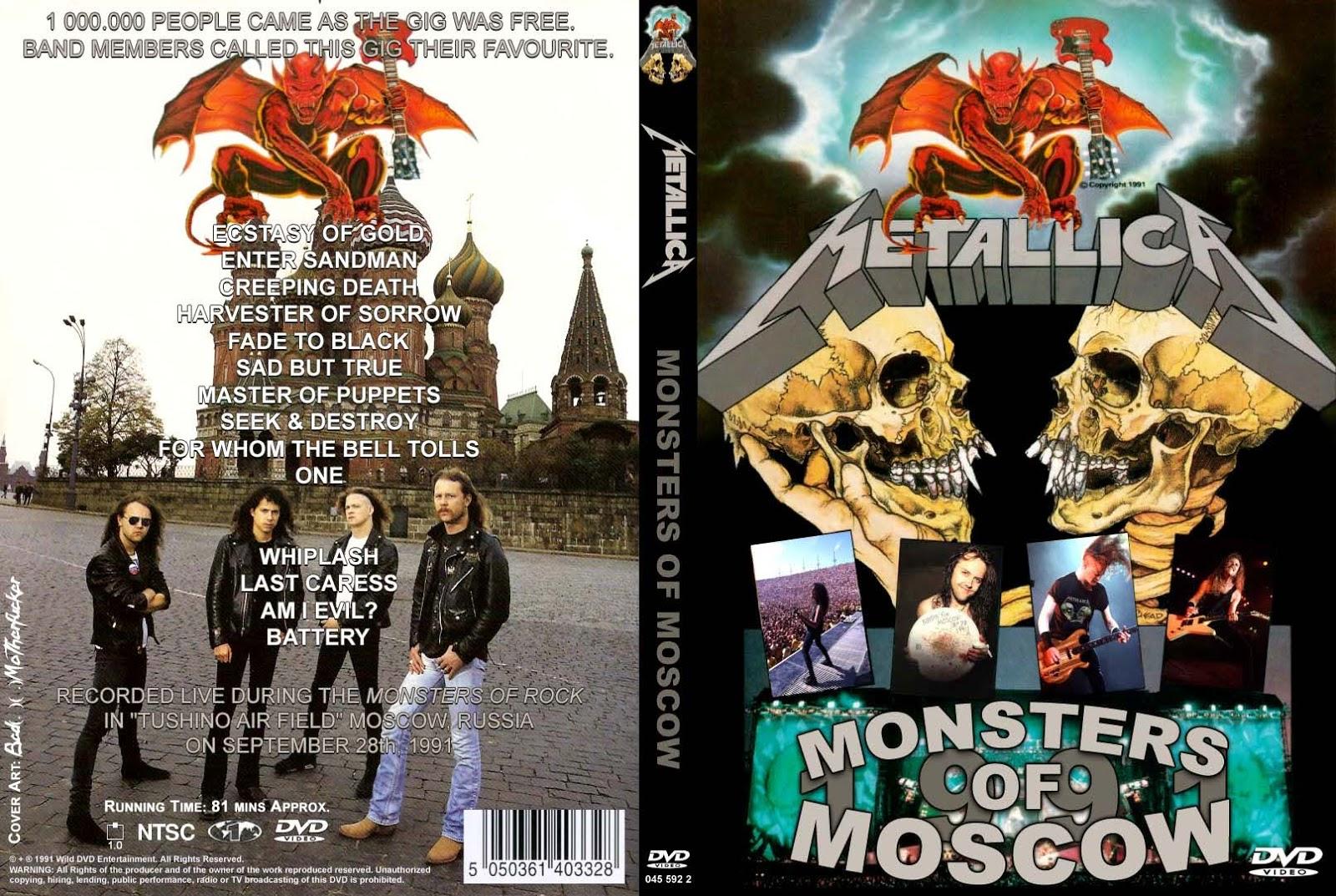 T.U.B.E.: Metallica - 1991-09-28 - Moscow, Soviet Union