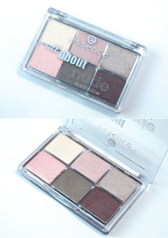 Essence All About Nude Eyeshadow Palette: Review and Swatches