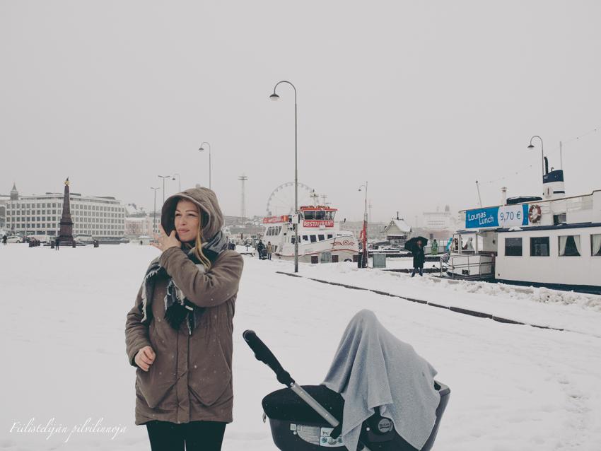 Helsinki kauppatori Britax babysafe sleeper