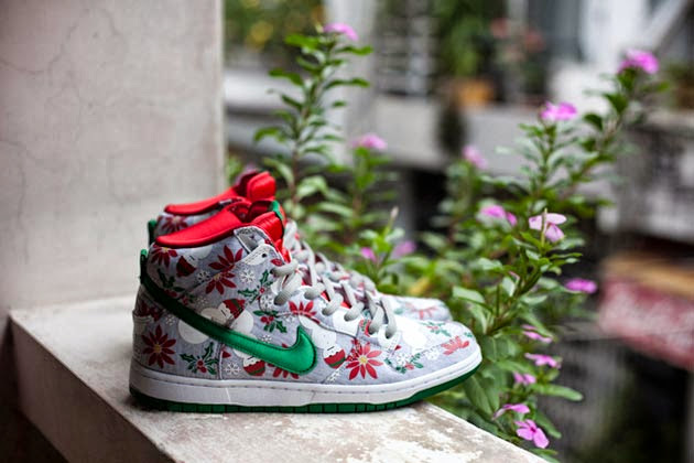 "Nike SB x CNCPTS Dunk Hi ""Ugly Christmas Sweater"""