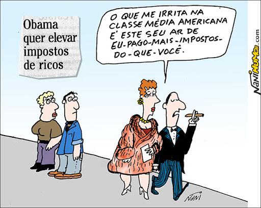 Obama quer elevar impostos de ricos