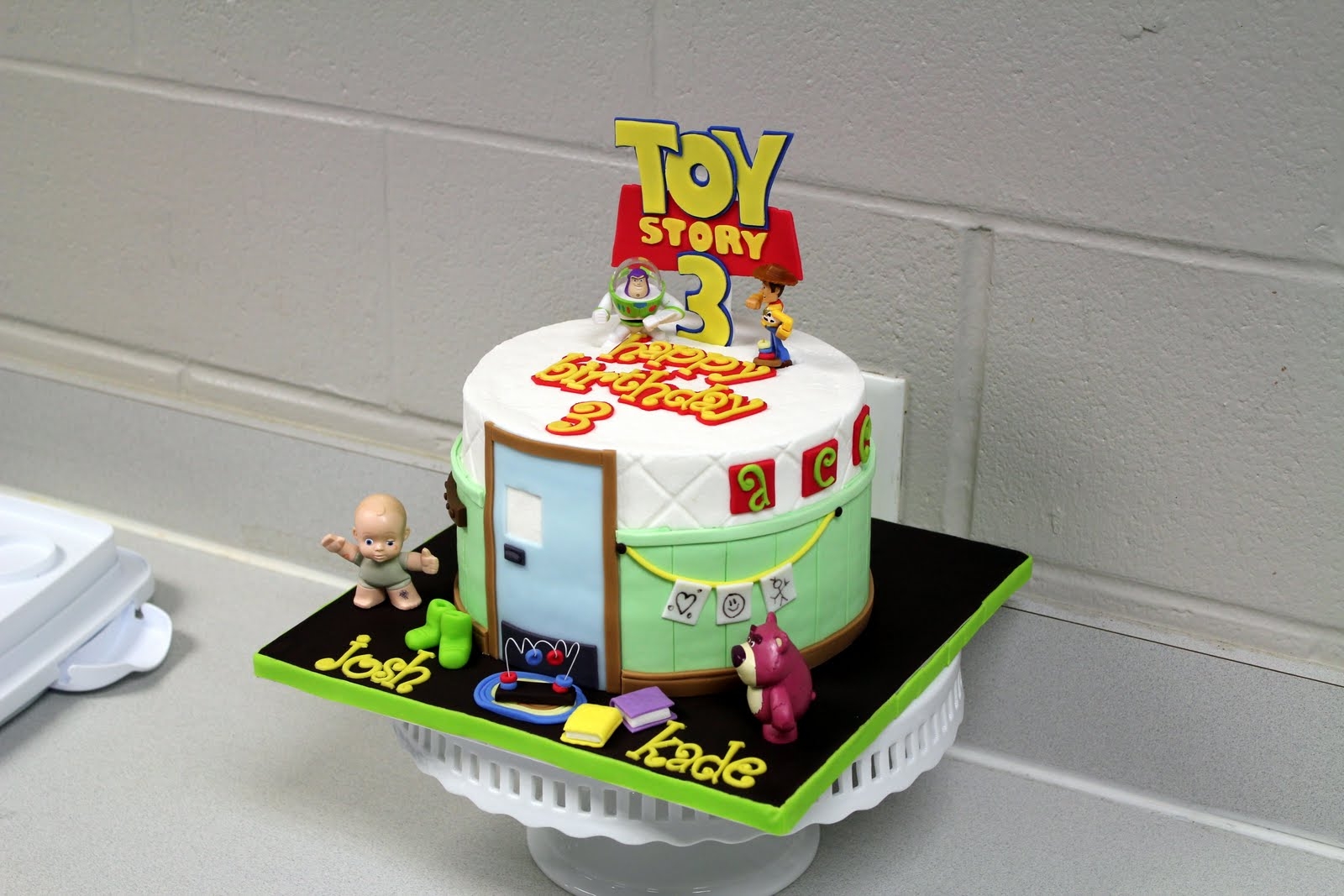 Crumbs Yums Toy Story 3 Birthday Party
