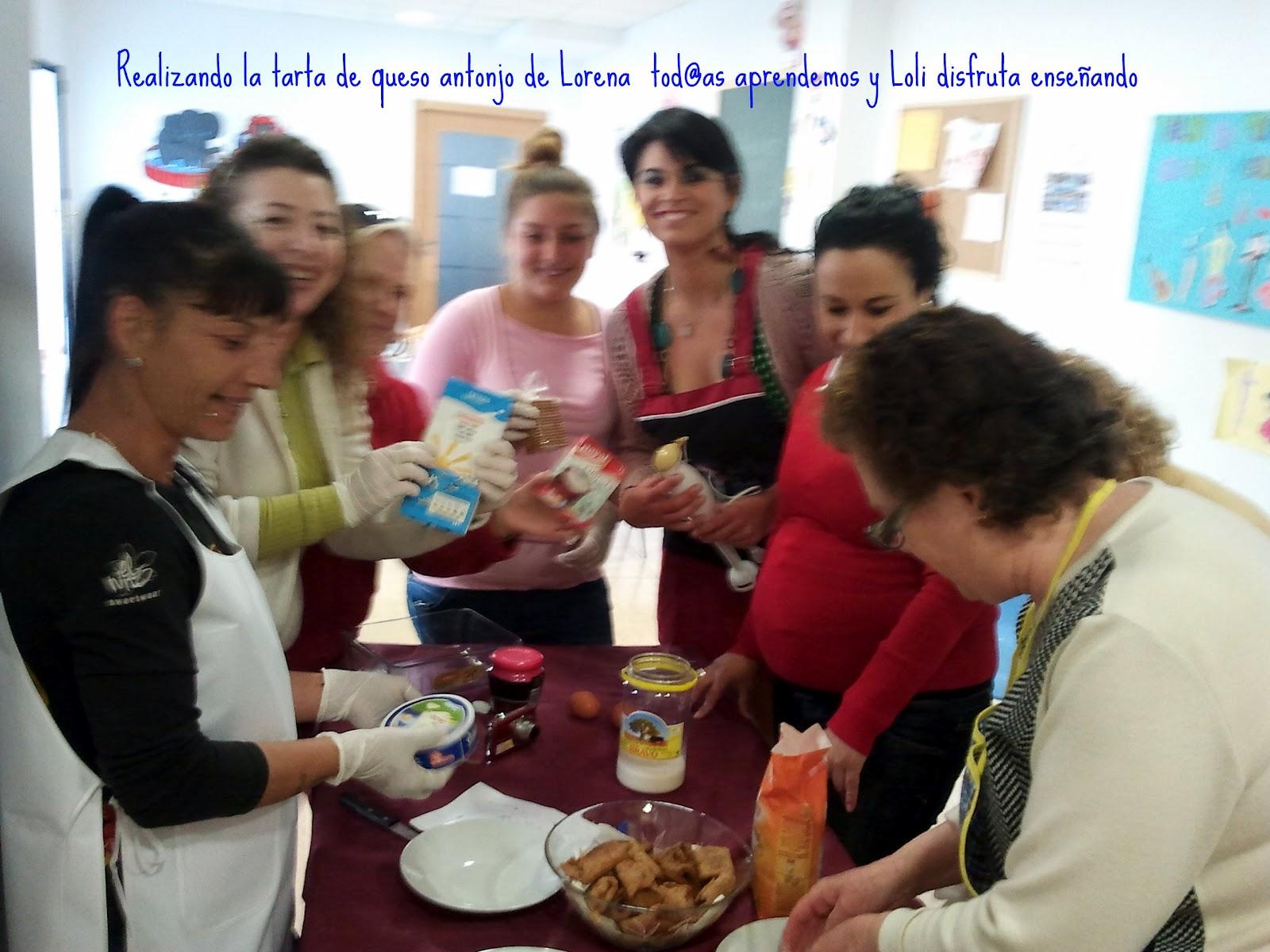 Con sabor andaluz fotograf as sobre los talleres de cocina for Taller andaluz de cocina