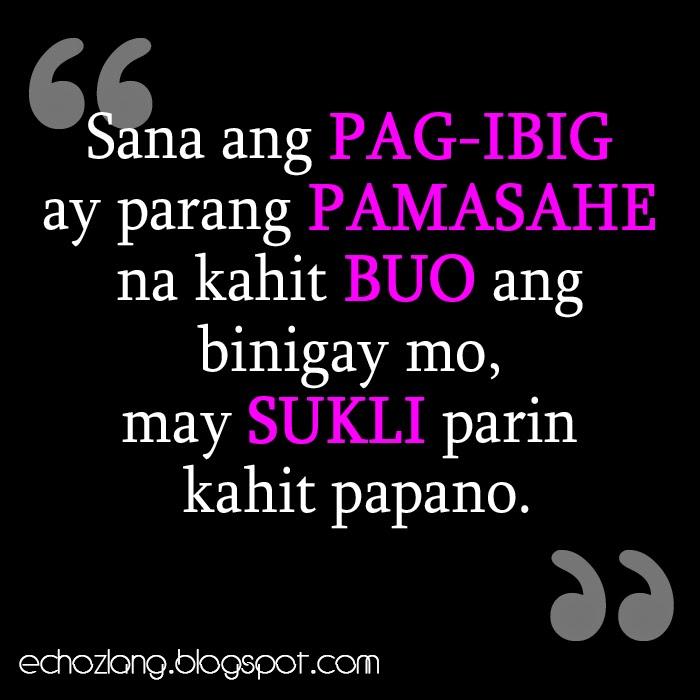 Sana ang pag-ibig parang pamasahe lang na kahit buo ang binigay mo may sukli parin kahit papano.