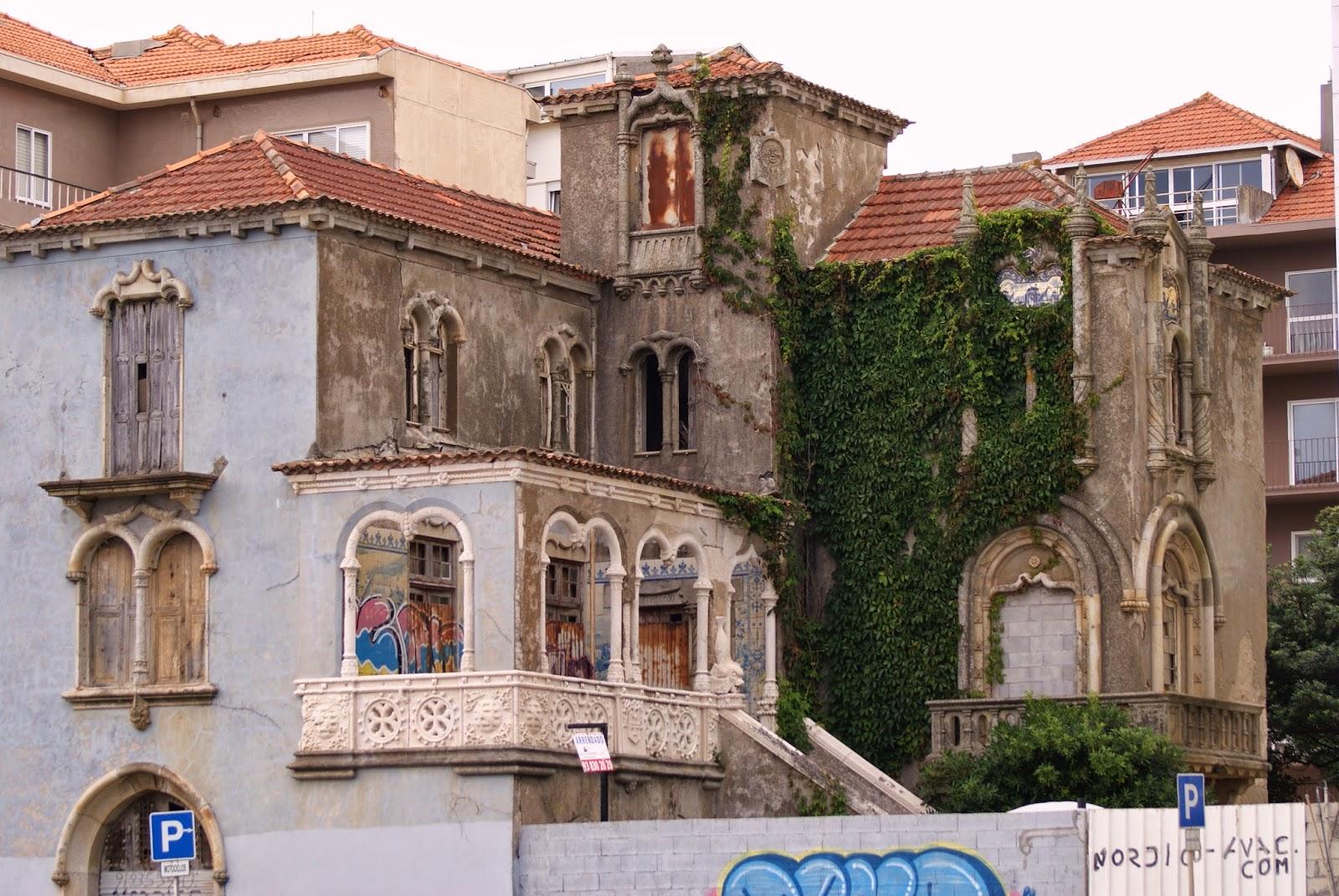 d691ff33f7b Património Memória Identidade  A casa mais invulgar da Avenida do ...