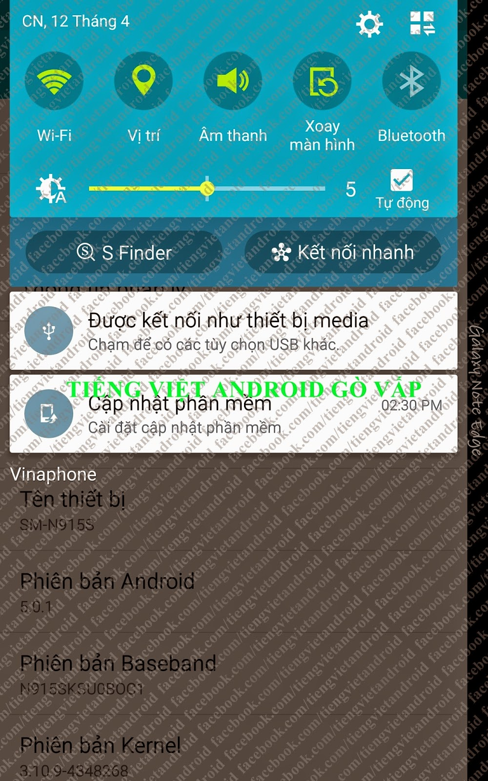 Tiếng Việt Android Gò Vấp