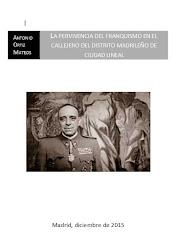 La pervivencia del franquismo en el distrito madrileño de Ciudad Lineal
