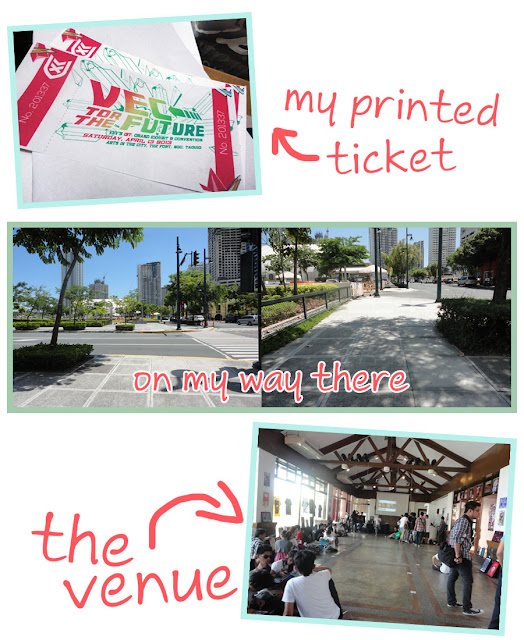 Art Li and Stuff - My printed ticket - The Venue