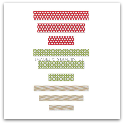 Season of Style Washi Tape - Digital Download by Stampin' Up!
