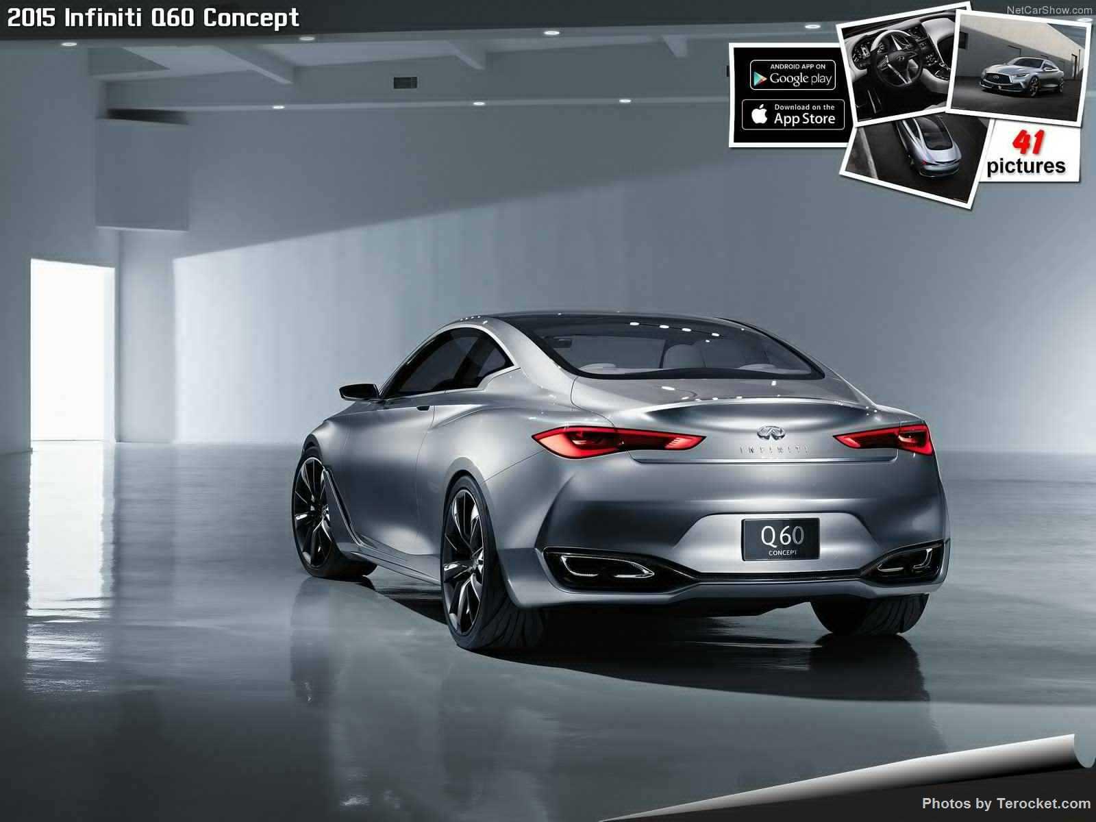 Hình ảnh xe ô tô Infiniti Q60 Concept 2015 & nội ngoại thất