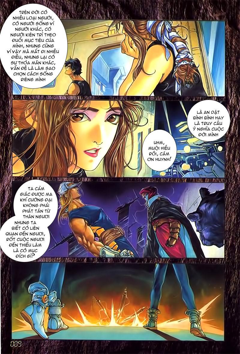 Cyber Weapon Z - Siêu Thần Z chap 3 - Trang 4