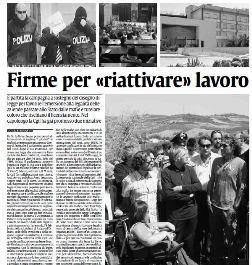 "Firme per ""riattivare"" lavoro!"