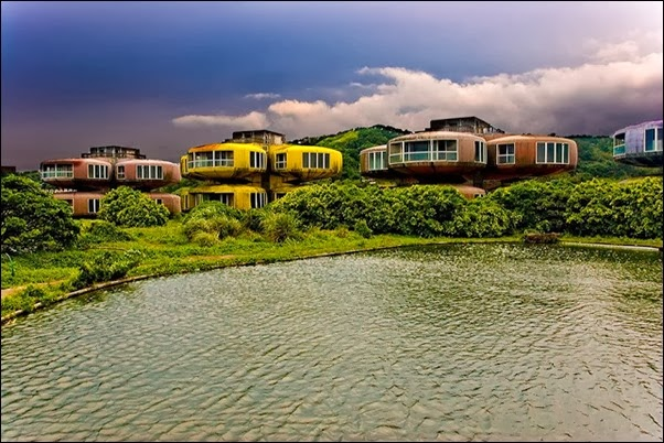 Sanzhi UFO houses - New Taipei City, Taiwan