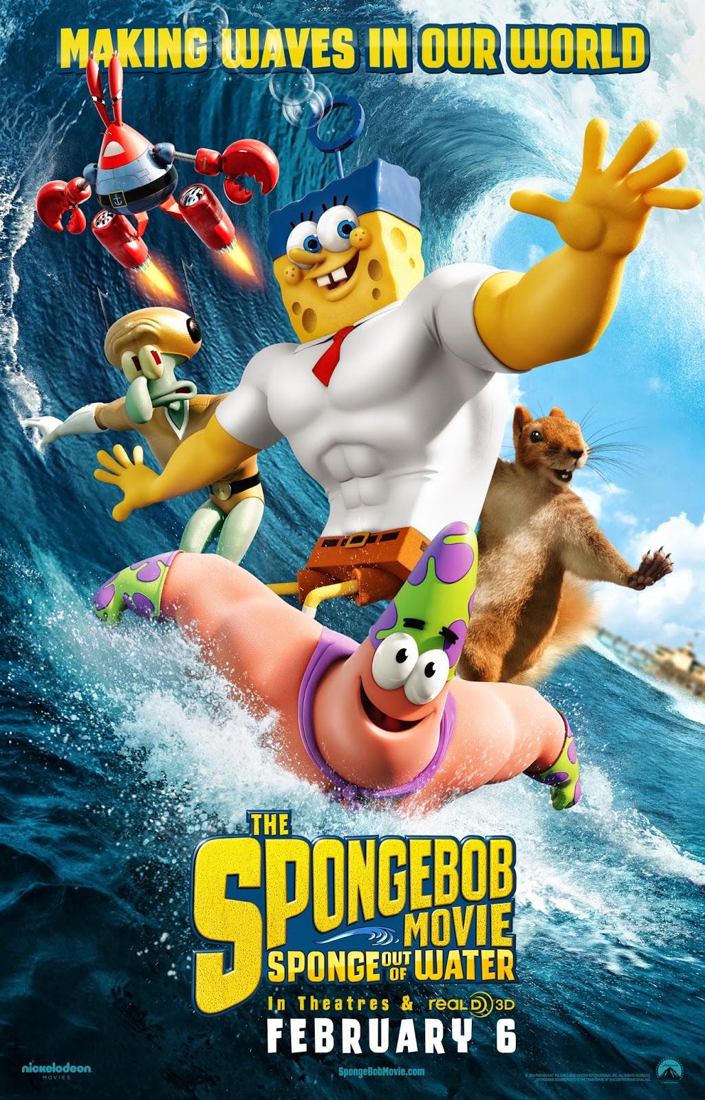 the spongebob movie sponge out of water wallpapers - The SpongeBob Movie Sponge Out of Water Official Movie