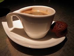 Heerlijk! Espresso... m'n favoriete koffie.