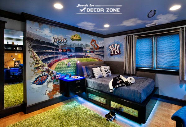 Wonderful Boys Room Decoration Requires More Care Than Girlu0027s Room, Especially ...