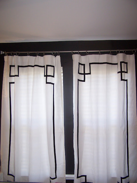 Vintage Lace Curtains Sale White Door Black Trim