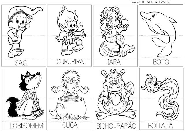 Atividade Folclore Puzzle Joguinho