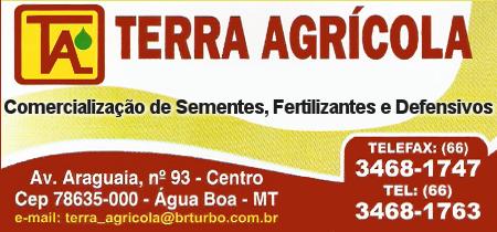 Terra Agricola - Comercialização de Sementes, Fertilizantes e Defensivos