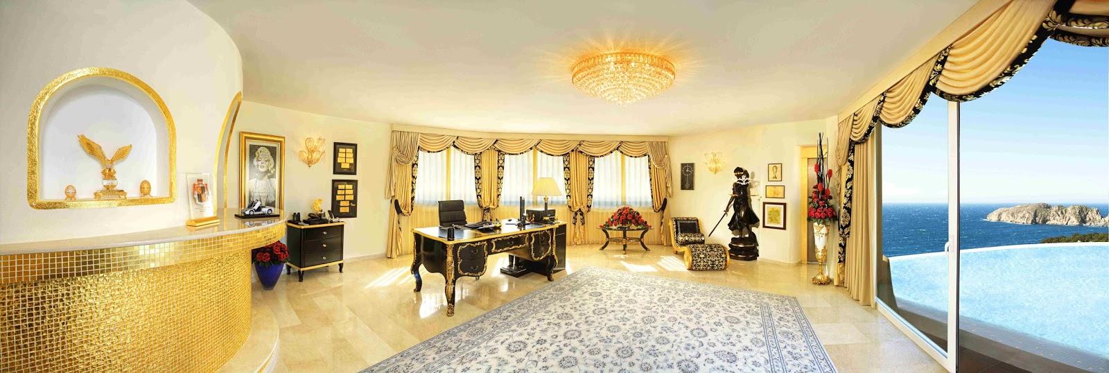 luxury life design amazing villa colani in mallorca. Black Bedroom Furniture Sets. Home Design Ideas