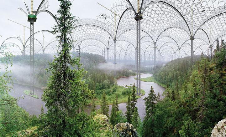 doğaya uyumlu yapılar