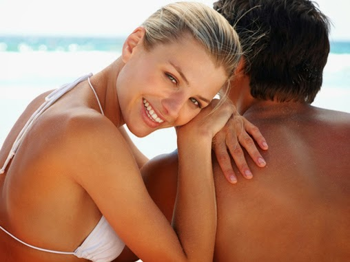 couple from St Louis Hair Removal Teeth Whitening Facials