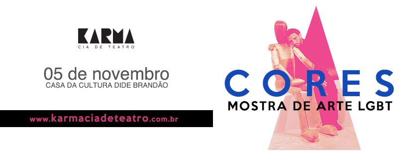 CORES: MOSTRA DE ARTE LGBTT
